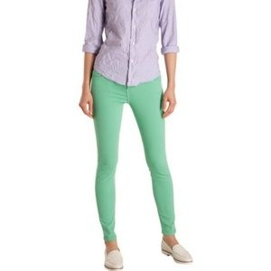 CURRENT/ELLIOTT Green Ankle Skinny Jeans NWT